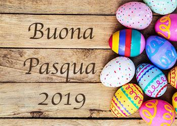 Auguri di buona Pasqua.