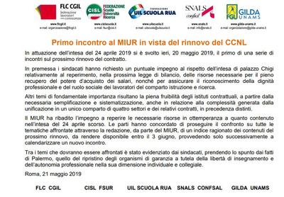 Rinnovo del CCNL